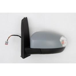 Retroviseur FORD CMAX 2011- - Electrique - Coiffe a peindre - Clignotant - Droit - CIPA
