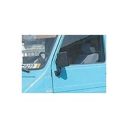 Retroviseur FIAT 242 - Manuel - Gauche - Glace Bombee - Coiffe Noir