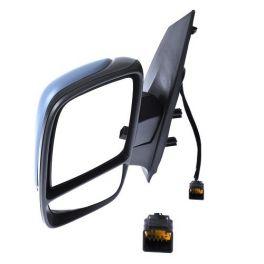 Retroviseur FIAT SCUDO 2007- - 2 Glaces - Electrique - Sonde - Coiffe a peindre - Rabattable - Droit - CIPA
